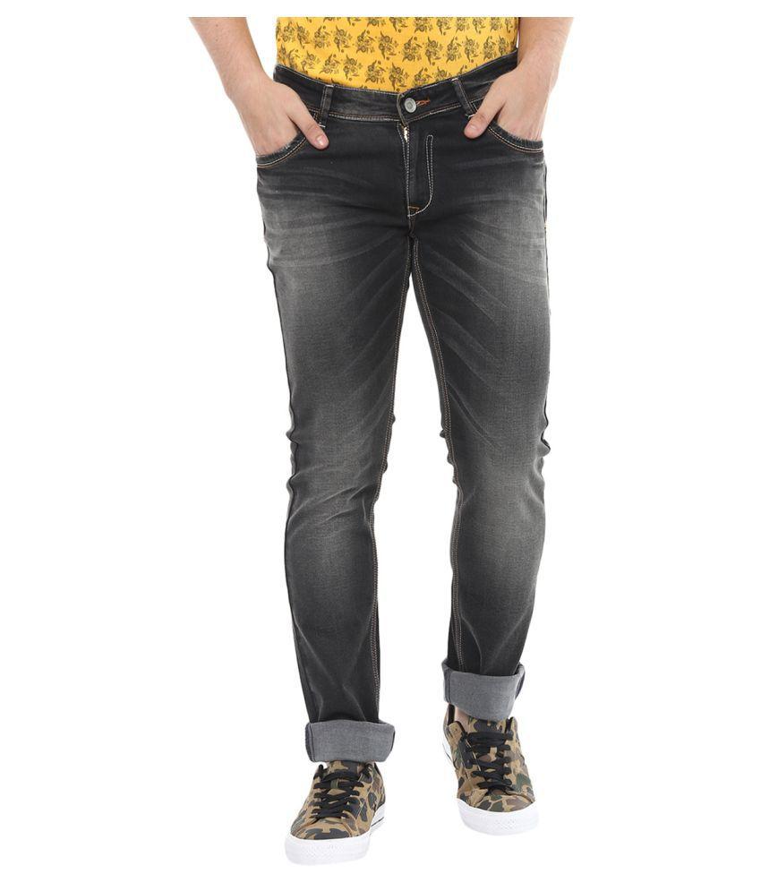 Spykar Black Skinny Jeans