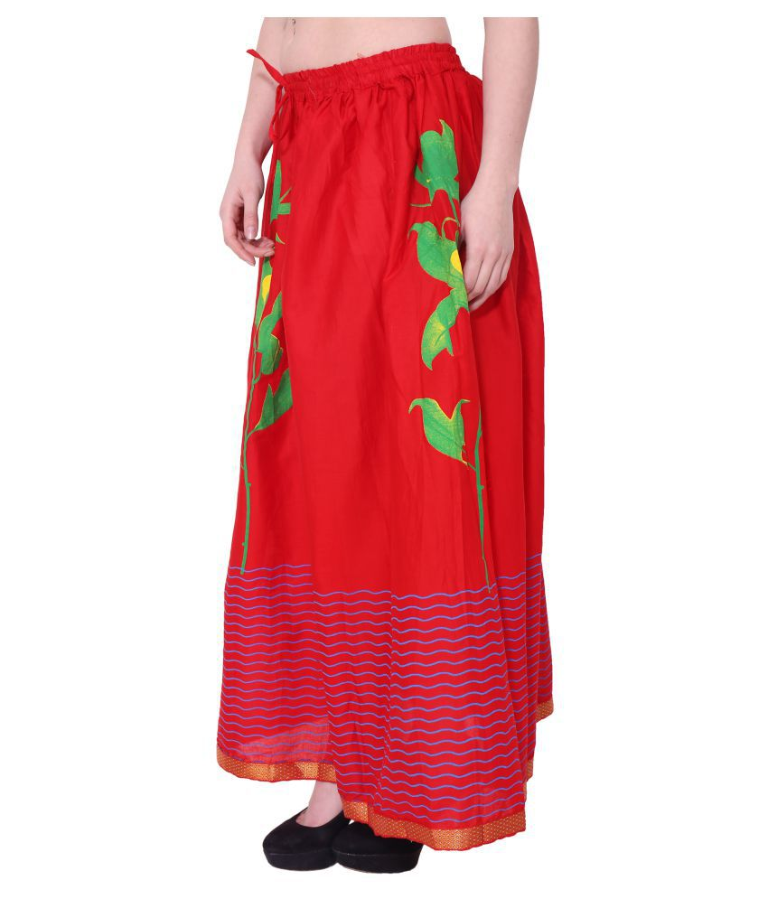 34b475861b1f Buy Magnus Cotton A-Line Skirt Online at Best Prices in India - Snapdeal