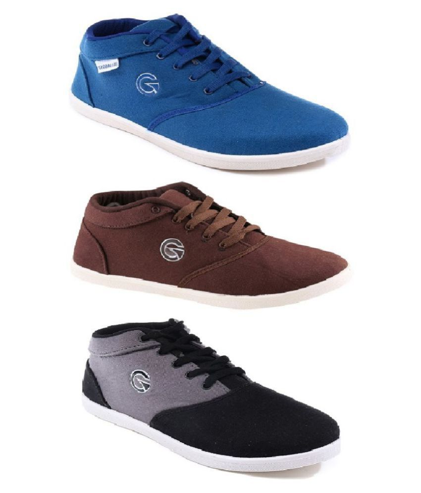 cheap price original Globalite Sneakers Multi Color Casual Shoes hot sale for sale wATqAogk