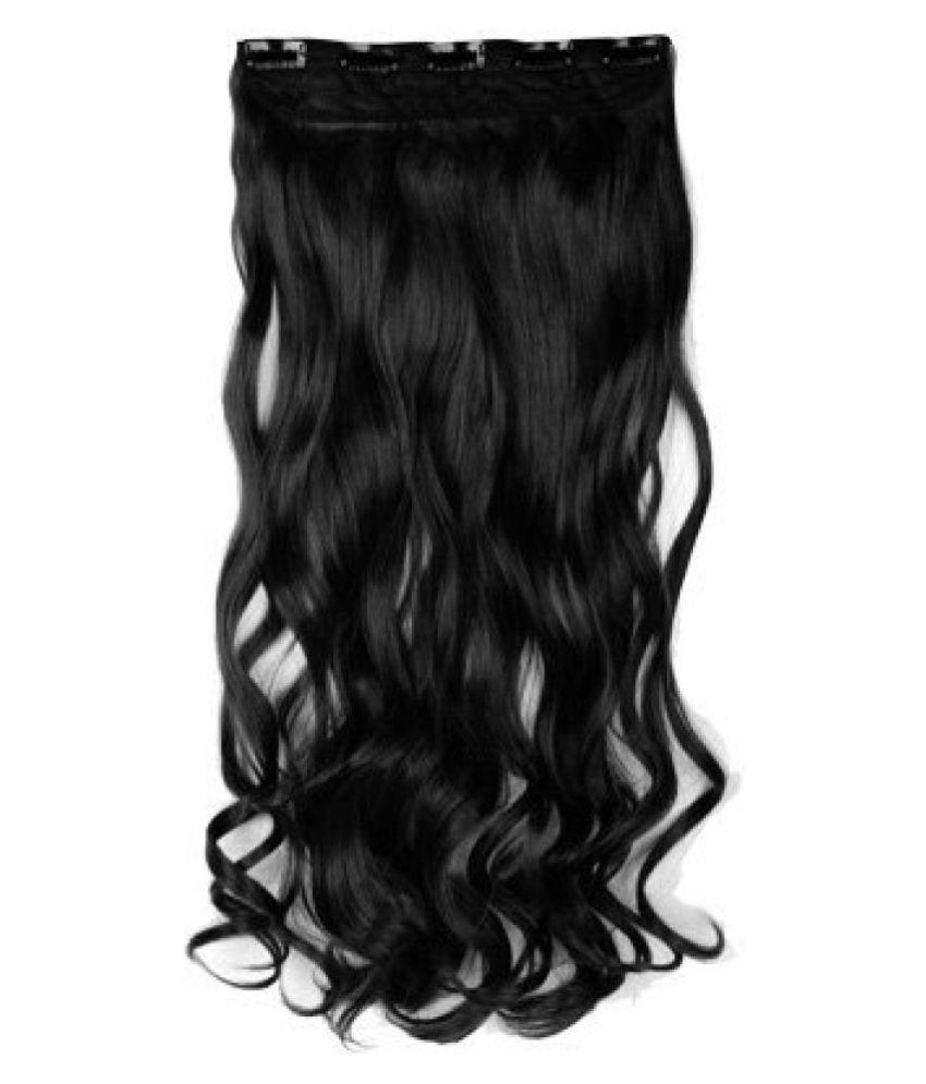 Majik For Women Girls Curly Hot Fusion Hair Extension Black Buy