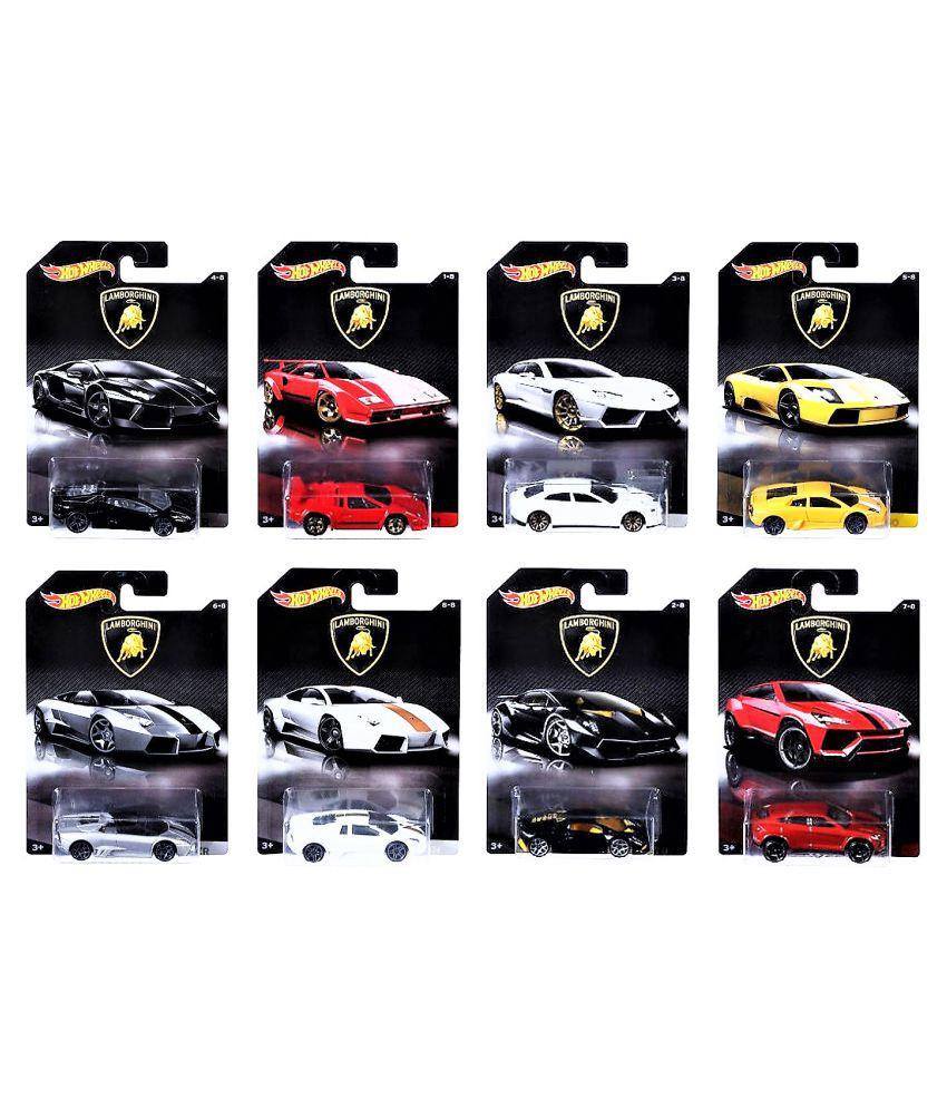 Hot Wheels Lamborghini Models Collection Of 8 Buy Estoque