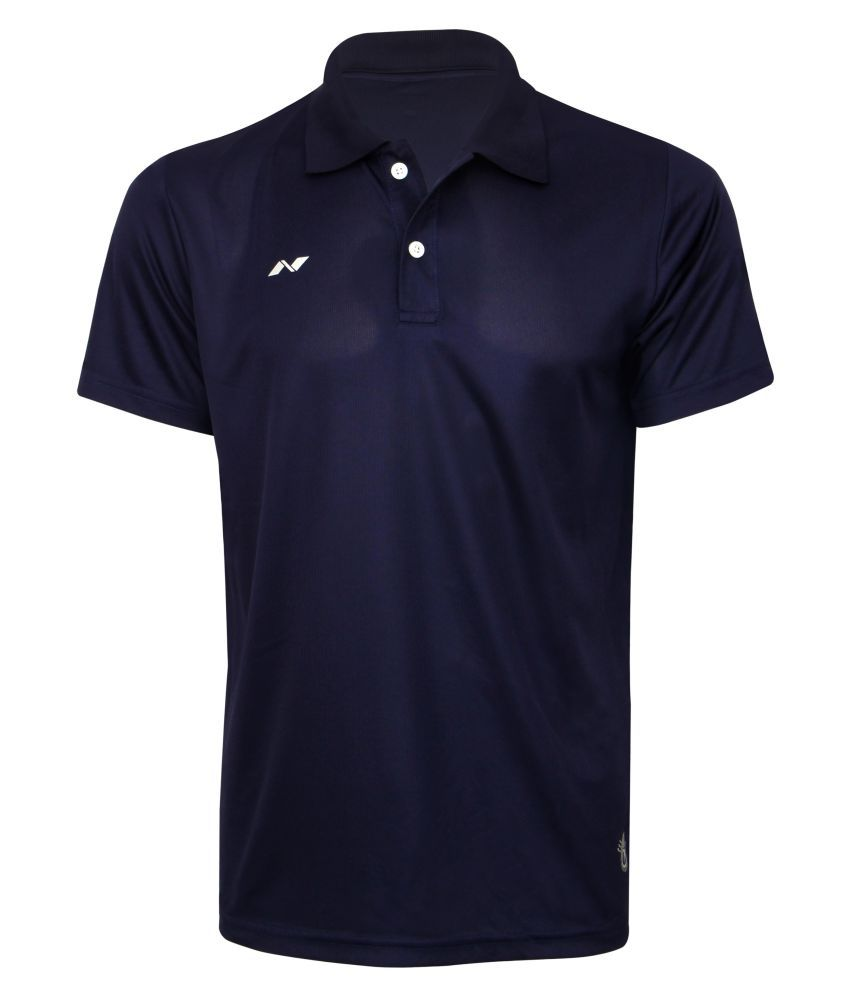 NIVIA POLO TEE ( BLUE)