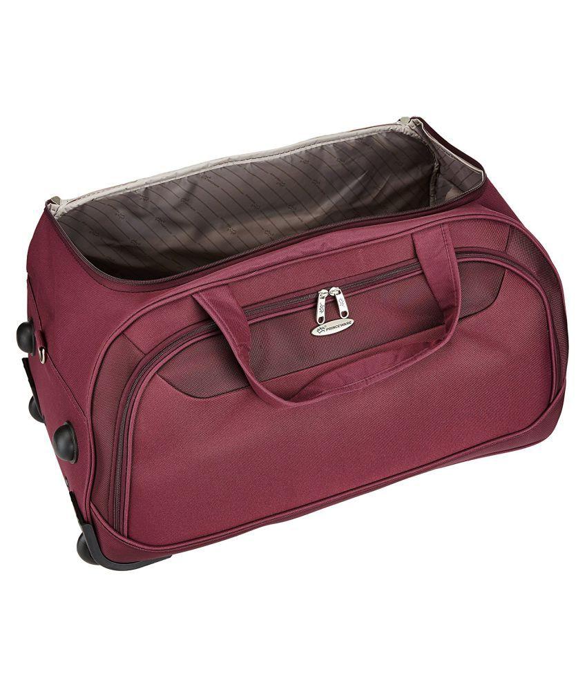 a9016ca40dde Princeware Purple Solid Duffle Bag - Buy Princeware Purple Solid ...