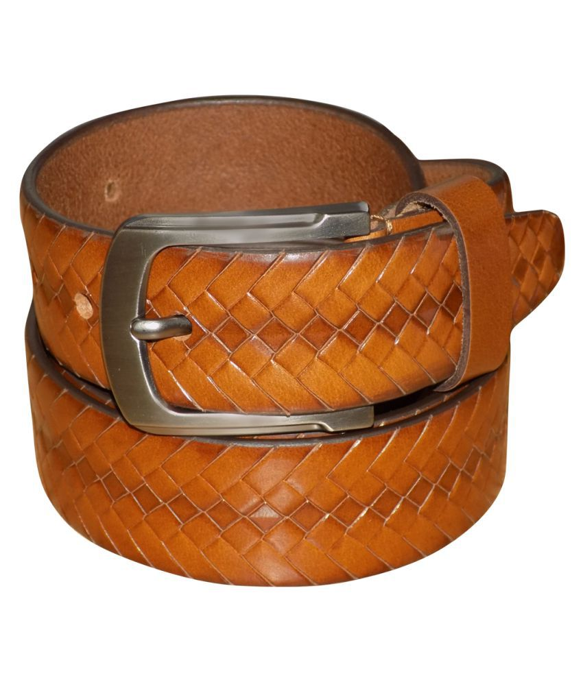 Kan Tan Leather Party Belts
