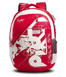 Skybags red pogo01red Backpack