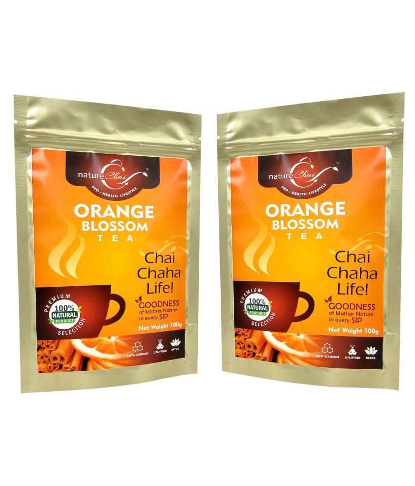 nature Chai Orange Blossom Tea Loose Leaf 100 gm Pack of 2