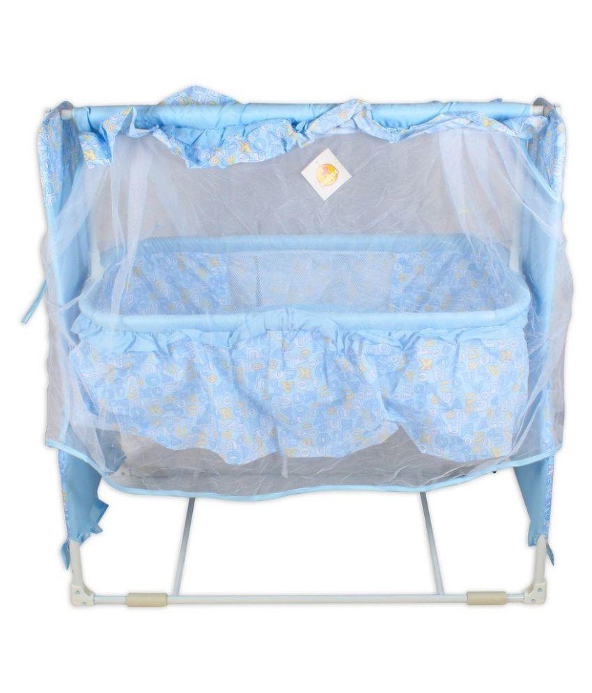 Baybee Dream-Time Bassinet Cradle (Blue)