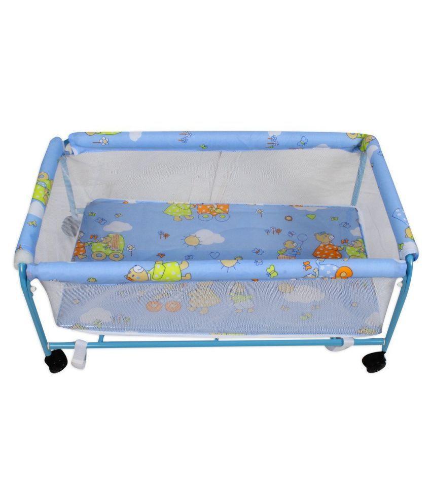 Baybee Hive Swing Baby Cradle (Blue)