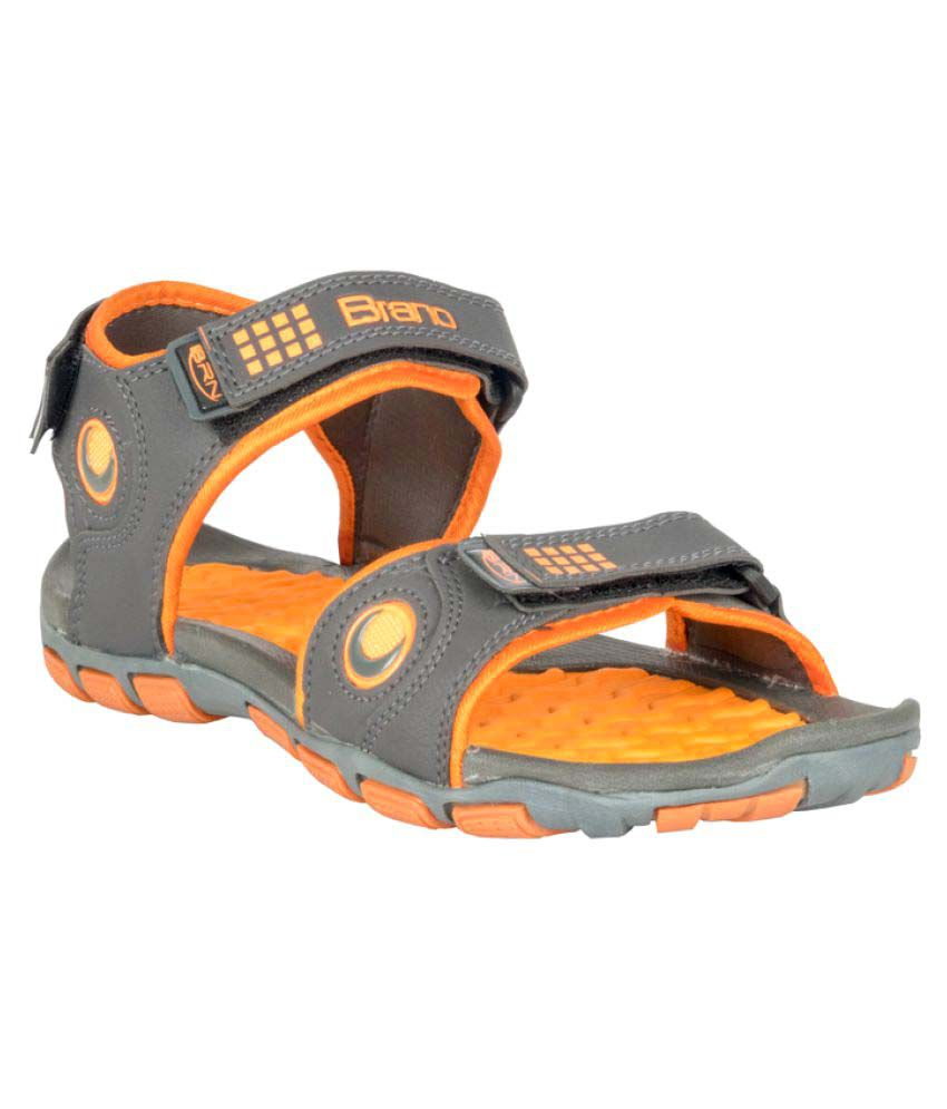 557831caa87 Brano SUPER 1 Gray Floater Sandals - Buy Brano SUPER 1 Gray Floater Sandals  Online at Best Prices in India on Snapdeal