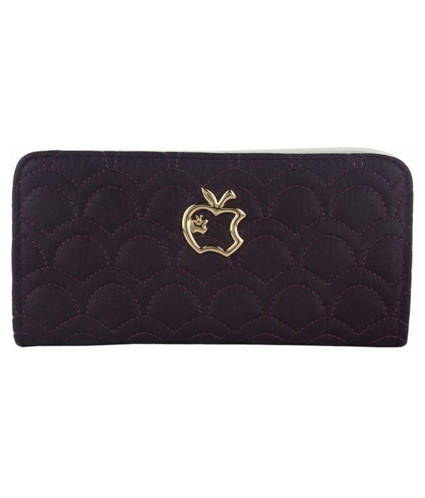 L'Authentique Purple Wallet
