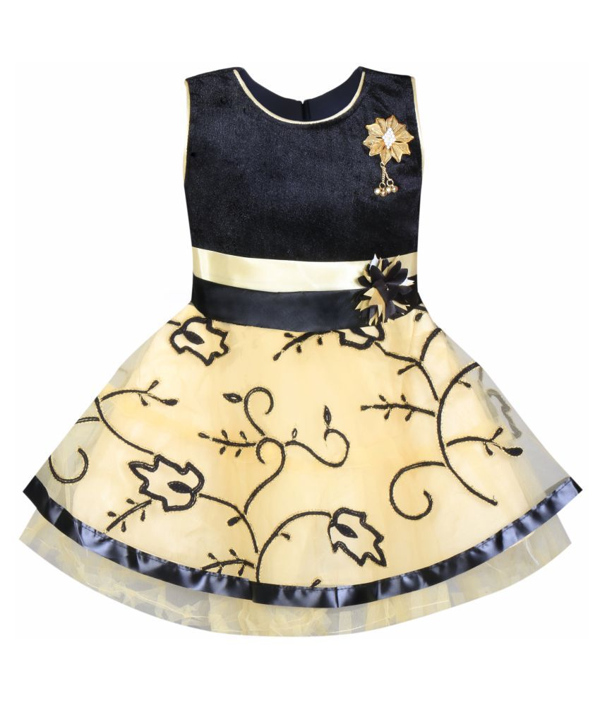 4cea2074ed Cute Fashion Kids Girls Dress for Princess Velvet and Soft Net Party ...