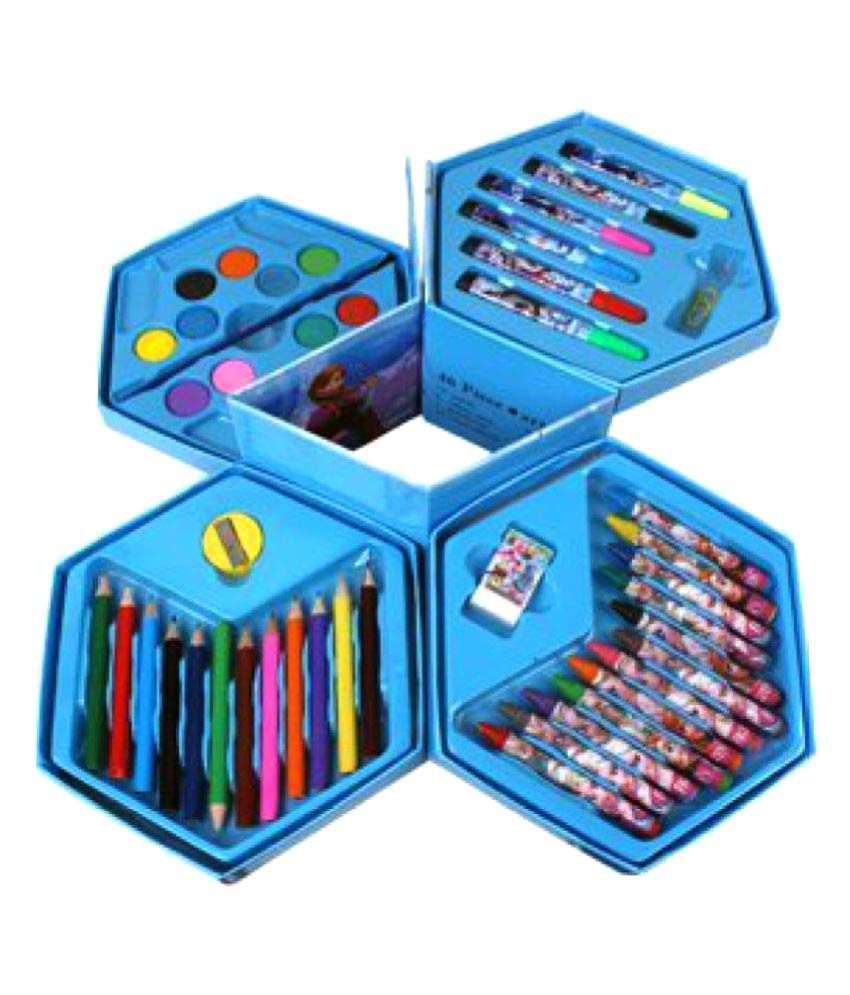 WebKreature Multi colour Art Set Colour Kit 46 PCs