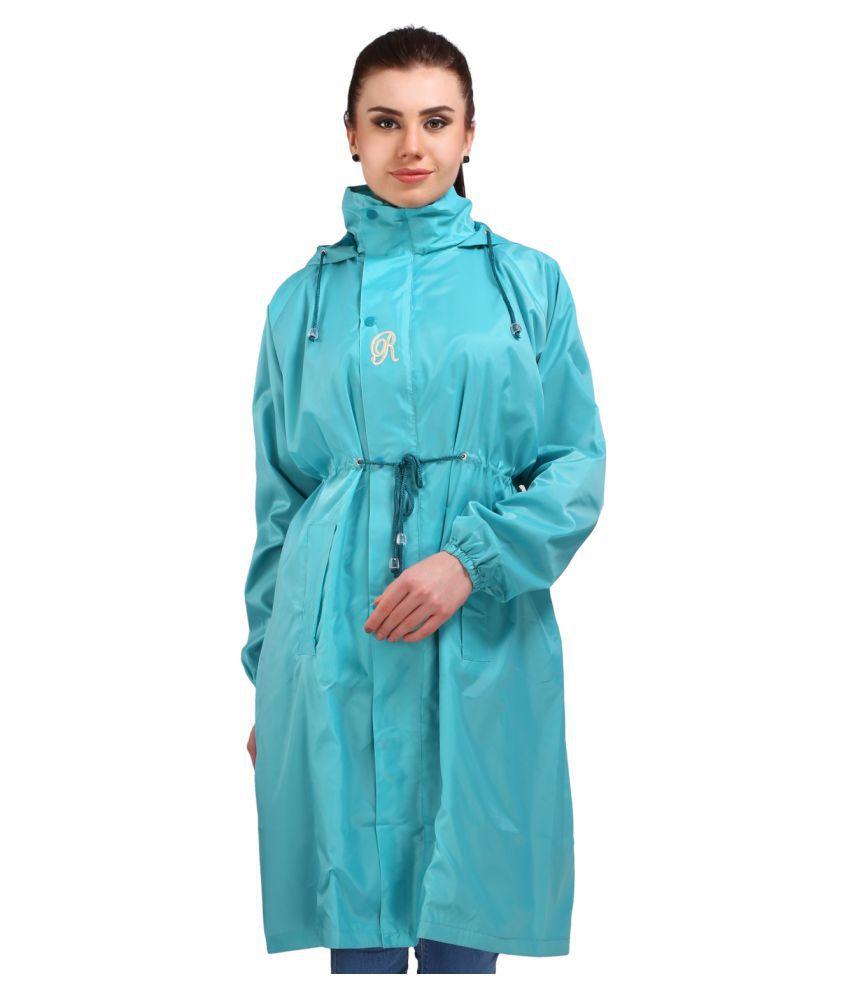 Real Waterproof Long Raincoat
