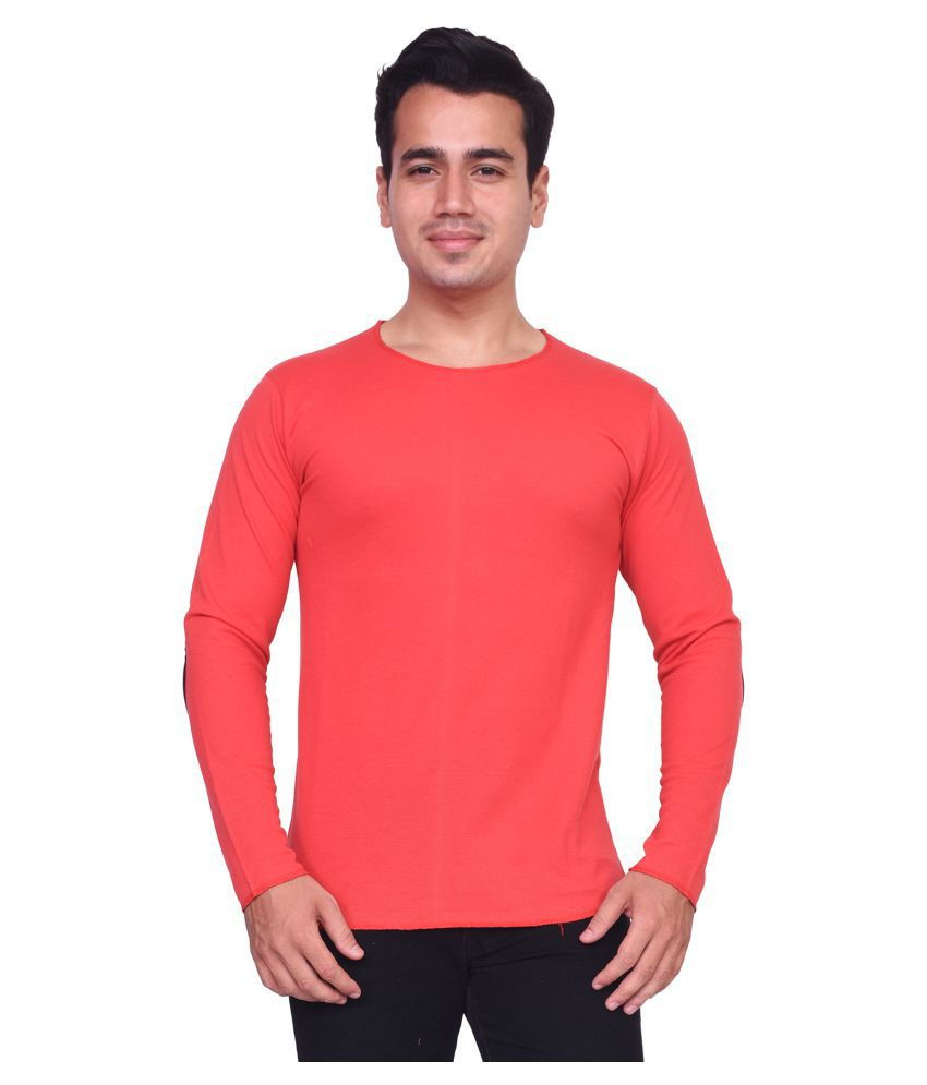 Voeux Orange Round T-Shirt