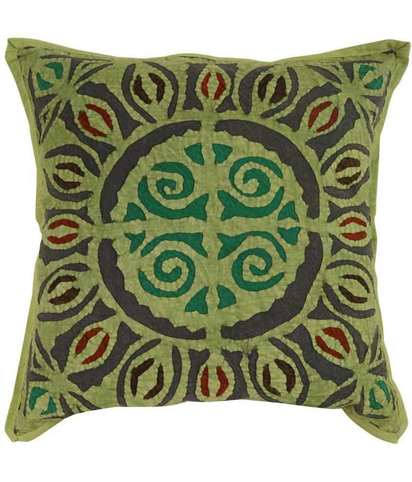 Rajrang Single Cotton Cushion Covers 40X40 cm (16X16)