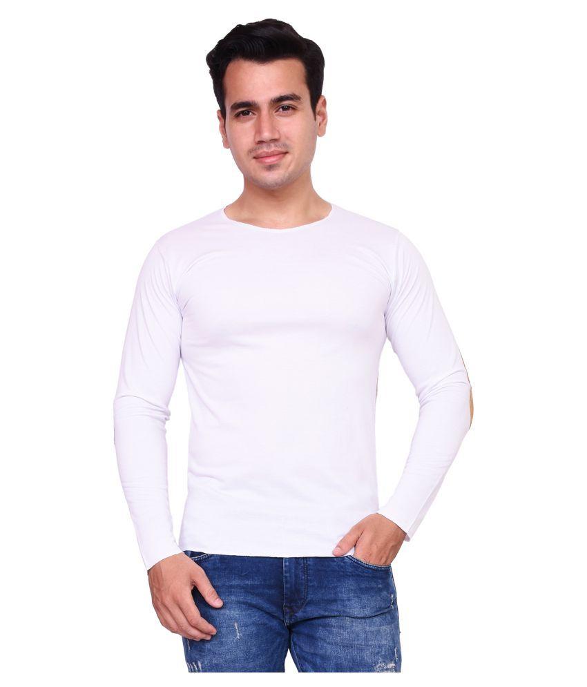 Voeux White Round T-Shirt