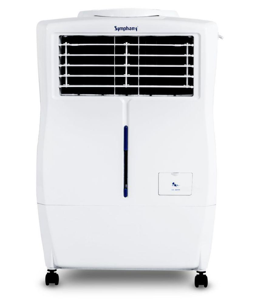 symphony ninja i xl 17 ltr air cooler white with remote for small rh snapdeal com