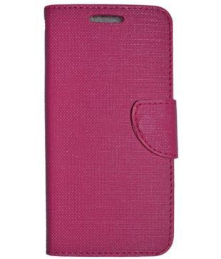watch 184d6 51e7b Eluga Ray Max Flip Cover by Colorcase - Pink - Flip Covers Online at ...
