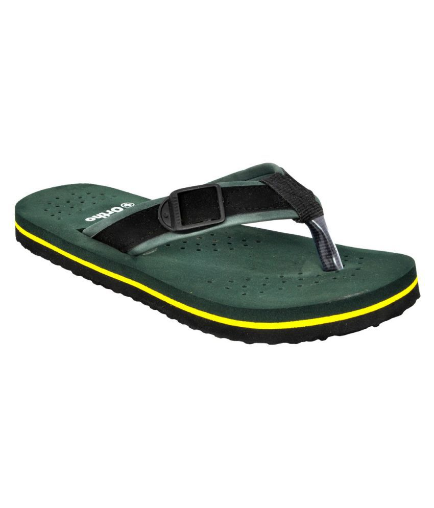 639aa96210 Altek Orthopedic Green Daily Slippers Price in India- Buy Altek Orthopedic  Green Daily Slippers Online at Snapdeal