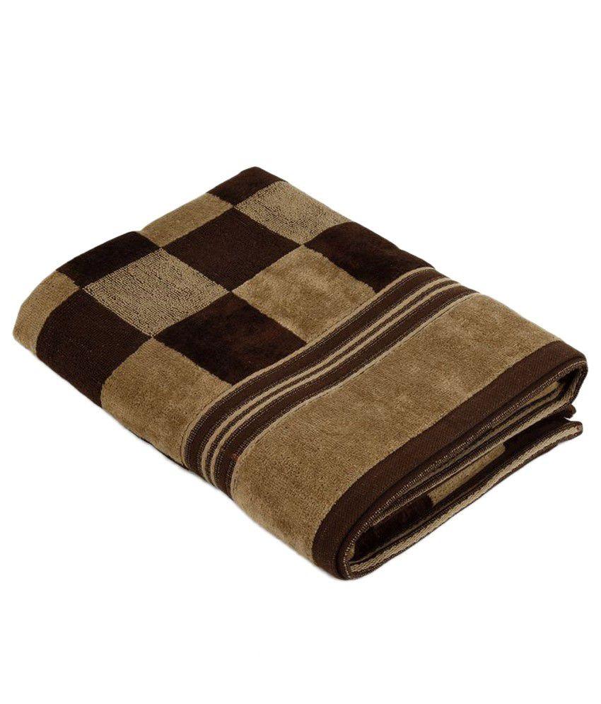 Jagdish Store Single Cotton Bath Towel Brown - Buy Jagdish Store ...