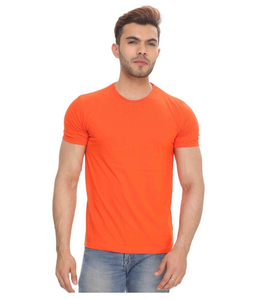 The Hex Orange Round T-Shirt