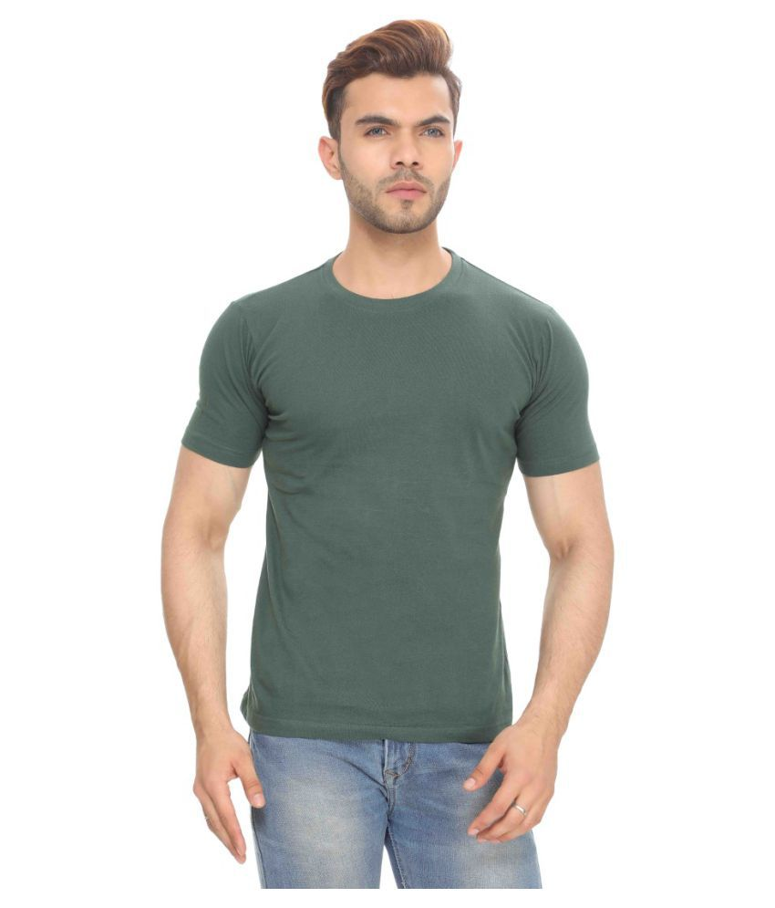 The Hex Green Round T-Shirt