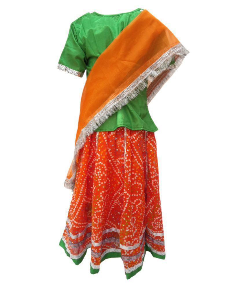 1cbb35343 ... Kaku fancy dresses Rajasthani Lehnga fancy dress for kids,Indian State  Traditional Wear Costume for ...