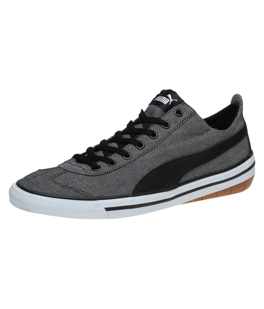 Puma 917 FUN Herringbone IDP Sneakers Black Casual Shoes - Buy Puma 917 FUN  Herringbone IDP Sneakers Black Casual Shoes Online at Best Prices in India  on ... 5d3faf30d