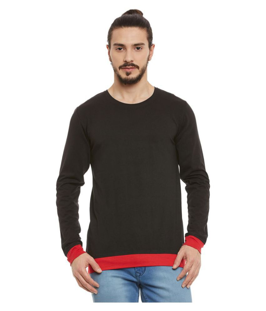 Rigo Black Round T-Shirt