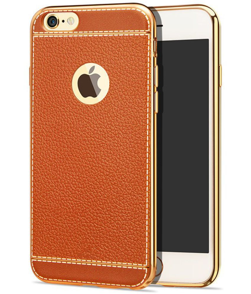 Apple iPhone 7 Soft Silicon Cases Excelsior   Brown