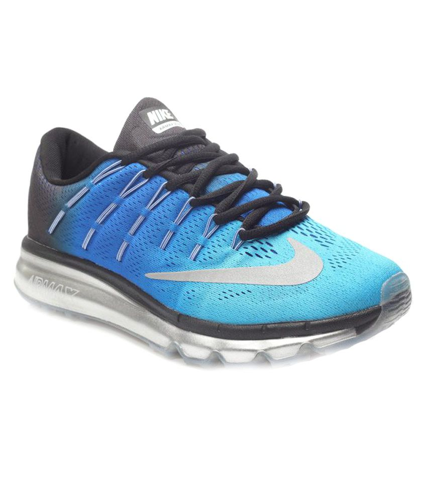 cc15866e6d Nike Air Max 2016 Gama Tube Blue Training Shoes - Buy Nike Air Max 2016  Gama Tube Blue Training Shoes Online at Best Prices in India on Snapdeal