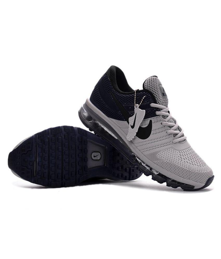 Nike 2018 Air Max Gray Training Shoes