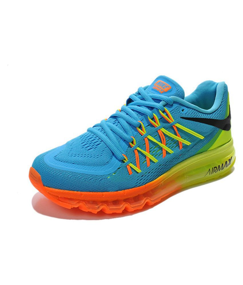 nike air max 2015 blue training shoes available at snapdeal for. Black Bedroom Furniture Sets. Home Design Ideas