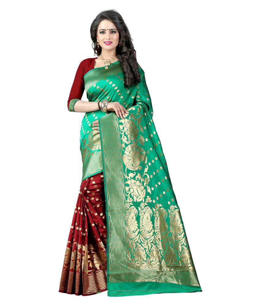 Fashion Fanda Multicoloured Banarasi Silk Saree