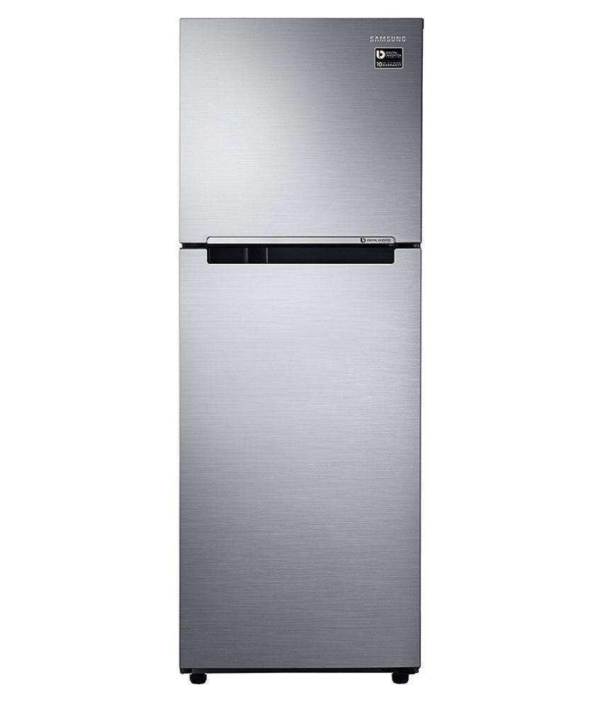 c190bef5862 Samsung 253 Ltr 2 Star RT28M3022S8 Double Door Refrigerator - Elegant Inox  Price in India - Buy Samsung 253 Ltr 2 Star RT28M3022S8 Double Door  Refrigerator ...