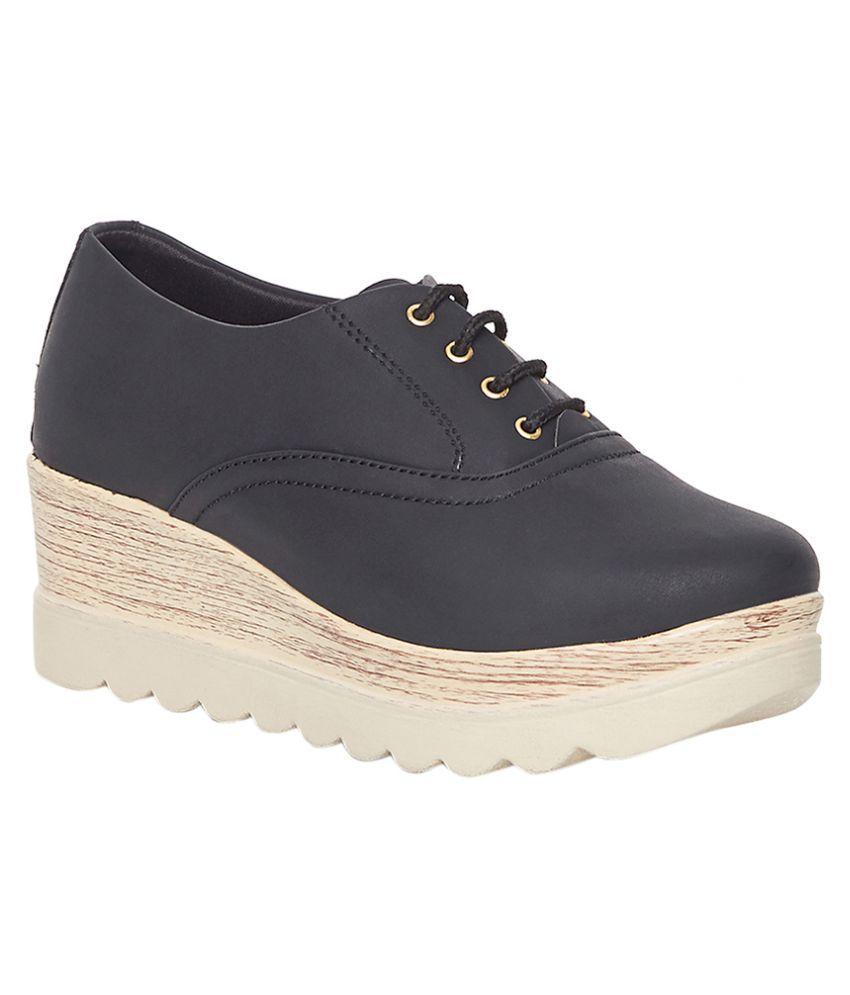 Marc Loire Black Casual Shoes