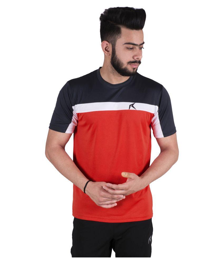 Repugn Orange Polyester T-Shirt