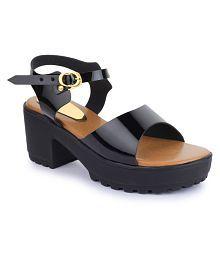 Sapatos Black Block Heels