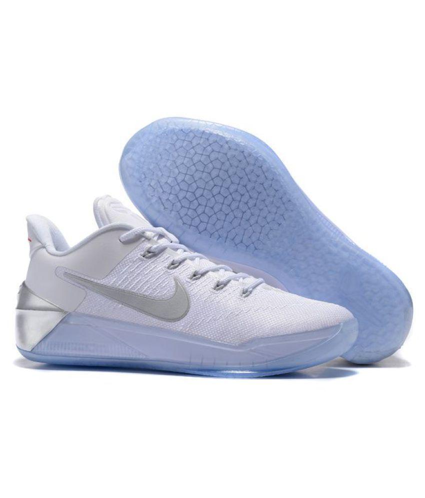 276519becb69 Nike Kobe AD White Basketball Shoes Nike Kobe AD White Basketball Shoes ...