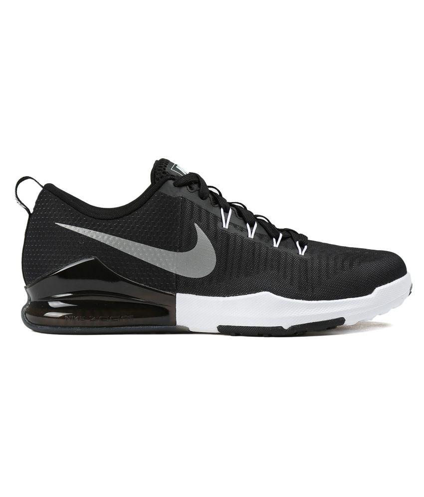 ac766bcb224b0 Nike Zoom Train Action Black Training Shoes - Buy Nike Zoom Train ...
