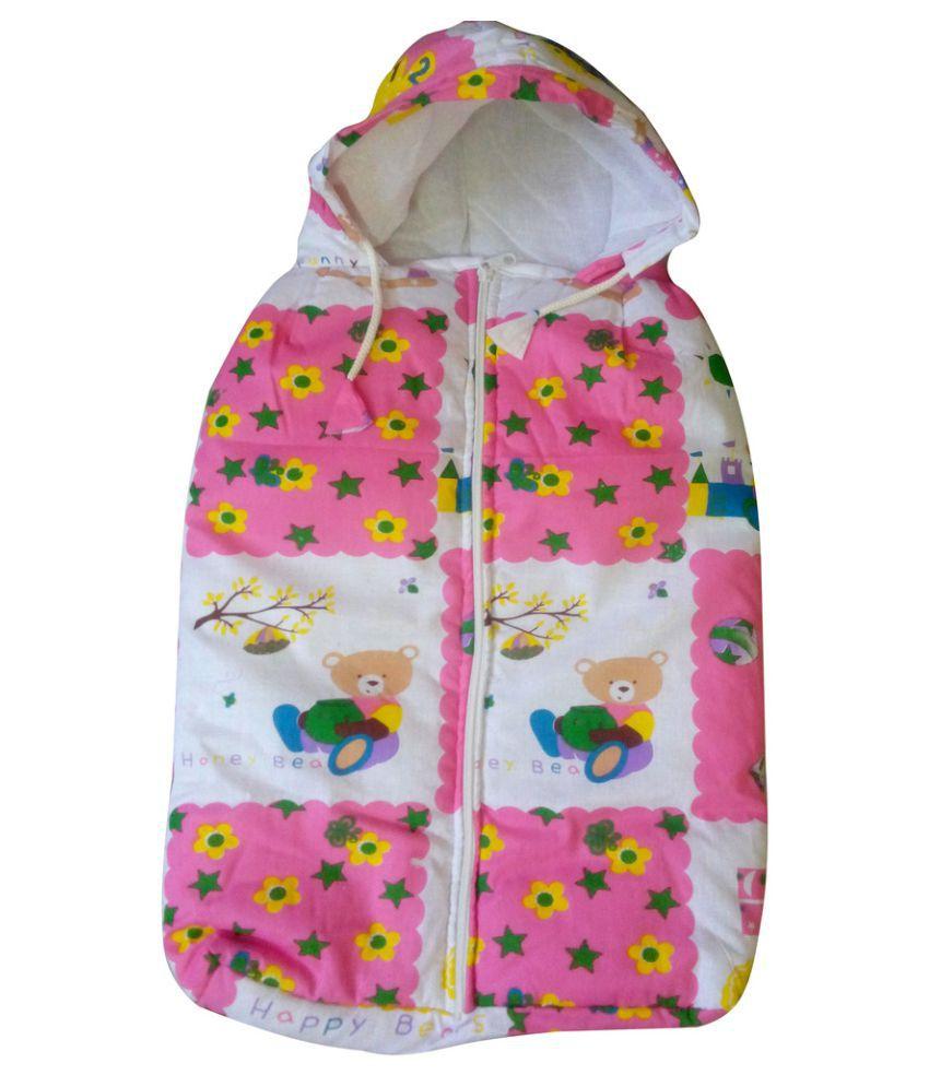 Welo Multi-Colour Cotton Sleeping Bags ( 24 cm × 21 cm)