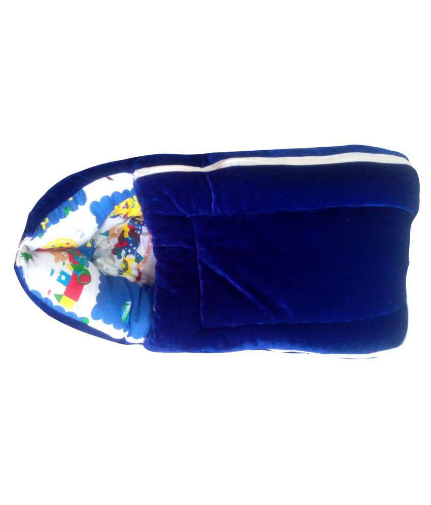 Welo Multi-Colour Cotton Sleeping Bags ( 33 cm × 27 cm)