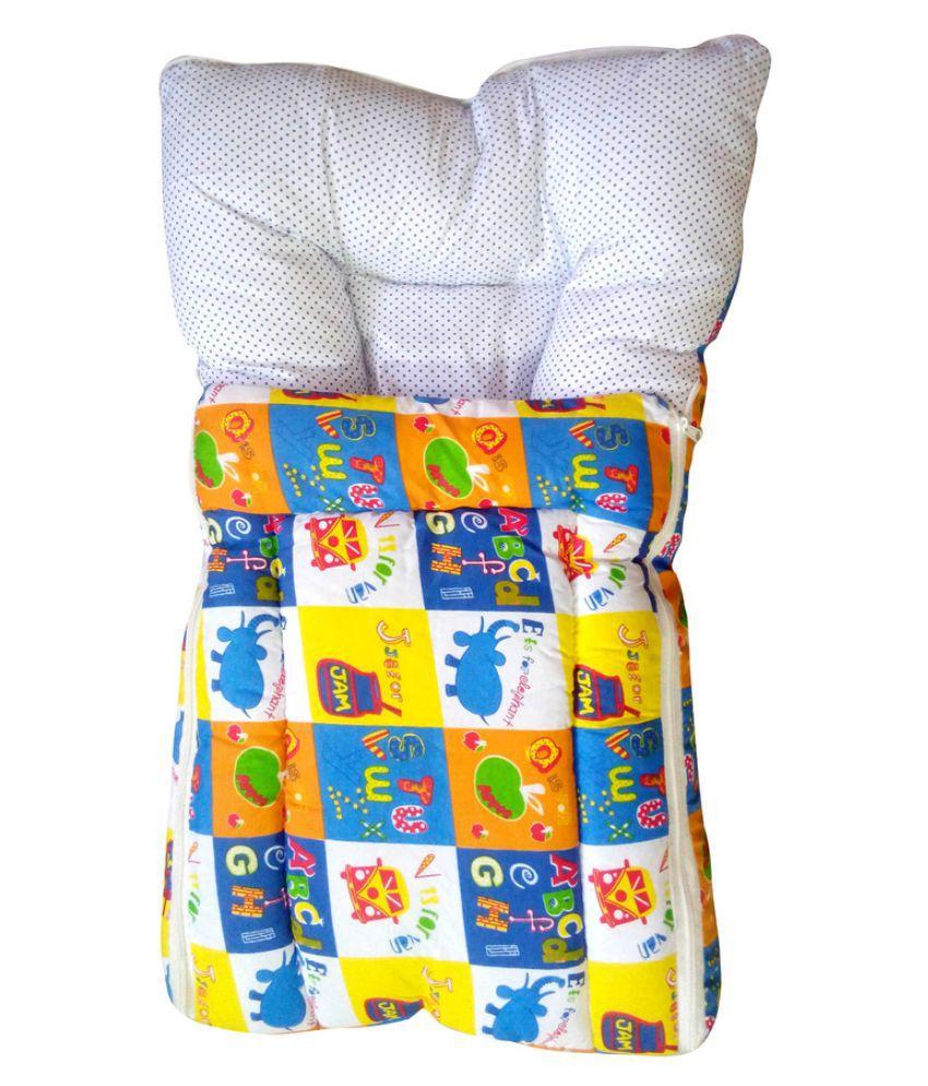 Welo Multi-Colour Cotton Sleeping Bags ( 38 cm × 35 cm)