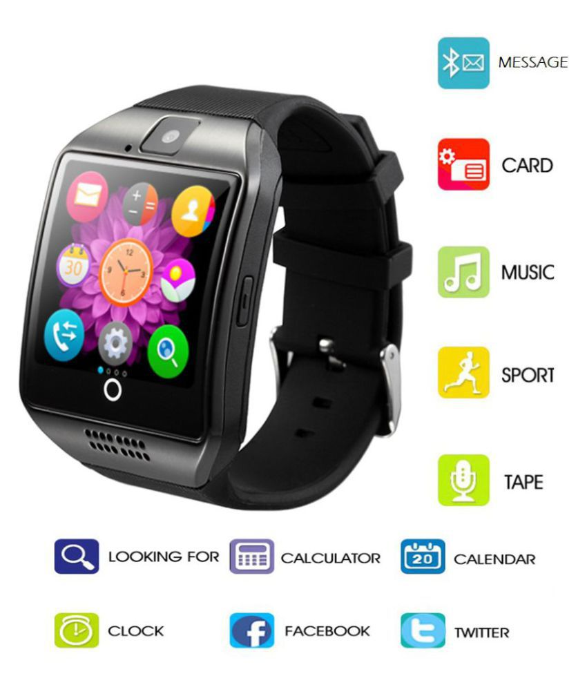4bc3c67a5 Ibs Q18 SMART MOBILE WATCH ANDRIOD WHATSUP BLUETOOTH Smart Watches ...
