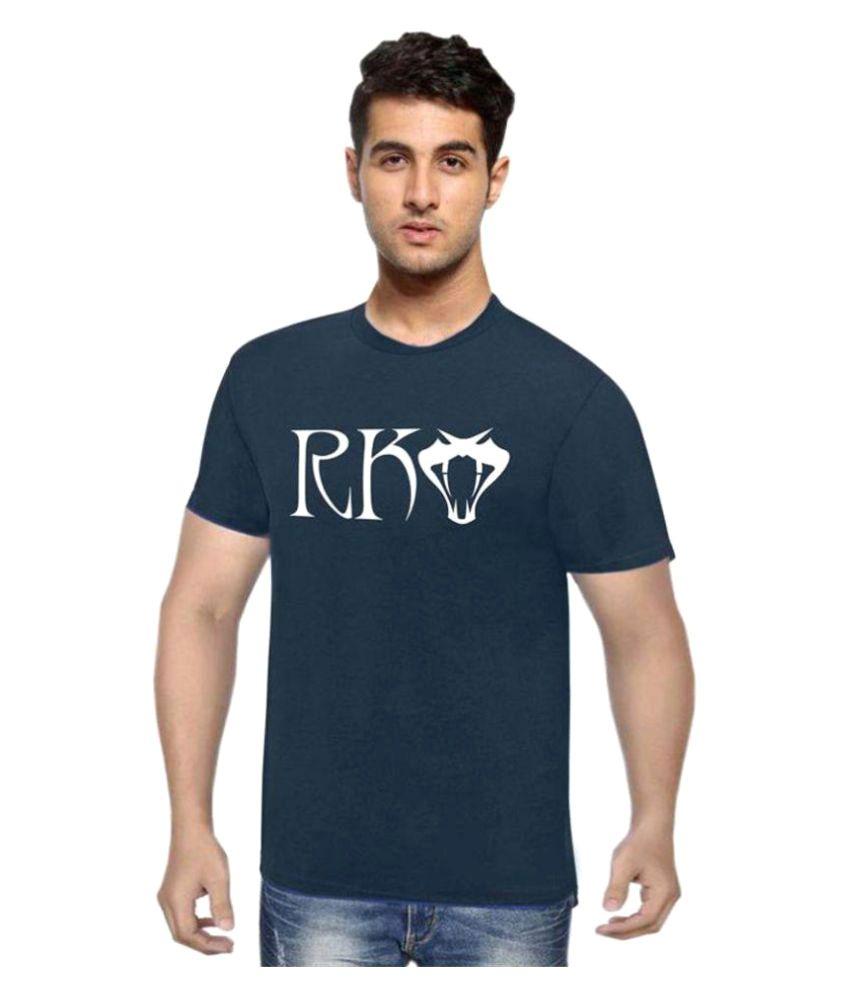 Delight Attitude Navy Round T-Shirt