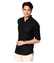 Tarkshyam Trendz Black Casual Slim Fit Shirt