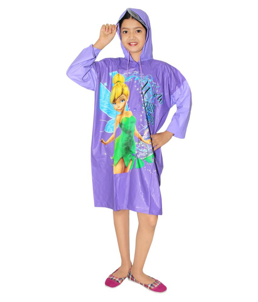 Goodluck Unisex fairycartoon Full Sleeve Raincoat