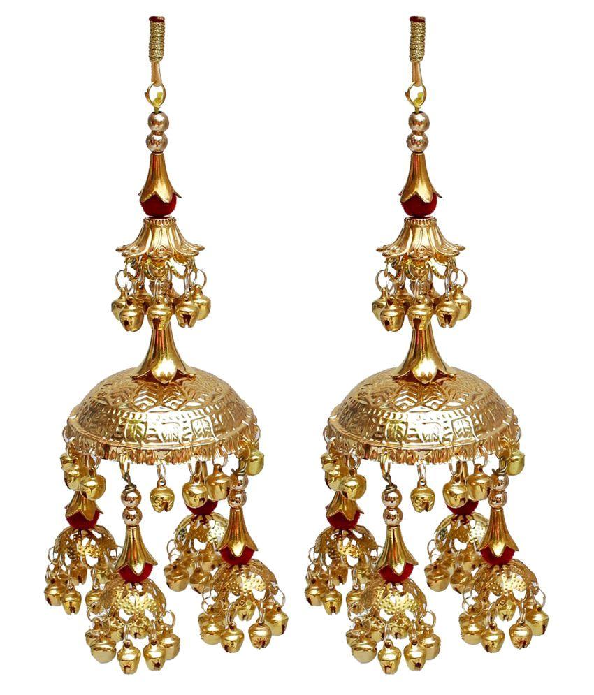 Lucky Jewellery, Golden Bridal Red Kaleera Women Wedding Kalira Designer Kalire Dulhan Kaliren Set