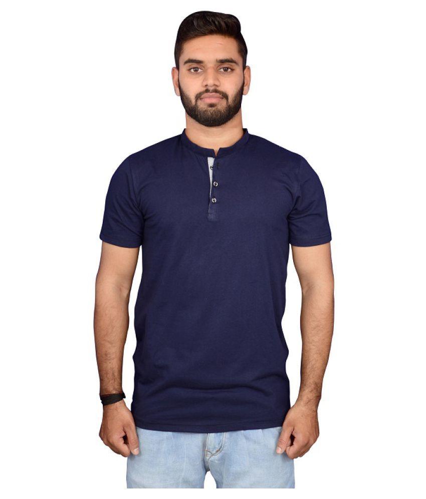 Tactware Navy Henley T-Shirt