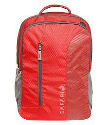Safari Red Backpack